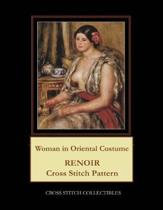Woman in Oriental Costume: Renoir Cross Stitch Pattern