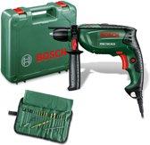Bosch PSB 750 RCE Boormachine 750 Watt Met stevige kunststof koffer en 19 delige accessoireset