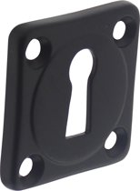 Intersteel Sleutelplaatje - vierkant - mat zwart - 0023.318316