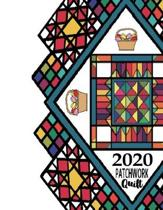 2020 PATCHWORK Quilt: Quilting Workbook: Notebook Journal, 8.5 x 11, 120 Pages - 2