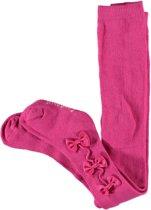 Baby Meisjes Maillot Rasperry roze met strikjes van satijnlint  - Maat 0-3mnd (50-62)