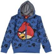 Vest angry birds blauw maat 104