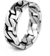 Massief Zilveren Ring – Gourmetschakel - 19.25mm