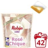 Robijn Capsules 2 in 1 Rose Chic - 42 wasbeurten - 3 stuks - Wasmiddel