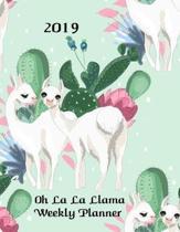 2019 Oh La La Llama Weekly Planner