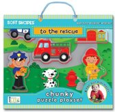 Soft Shapes to the Rescue Chunky Puzzle Playset