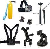 8 in 1 Outdoor Gopro Accessories Kit voor GoPro Hero 4/3+/3/2/1 en Actioncam