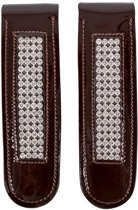 QHP Laarzenclip Madelon - Brown/Silver - Onesize