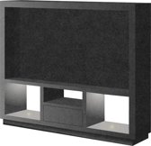 TV meubel JAAP MDF Zwart V313