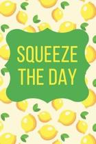 Squeeze the Day Lemon Wallpaper Journal