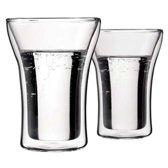 Bodum Assam Dubbelwandig Glas - Middel - 250 ml - 2 stuks
