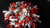 Grote Woef-it Snuffelmat wit, lichtgrijs, rood