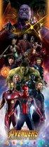 Avengers Infinity War - Poster 53 x 158 cm