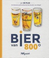 Bier van 800°; geëmailleerde reclameborden.