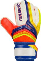 Reusch Serathor SG Junior - Keepershandschoenen - Kinder - Blauw-Geel-Oranje-Wit - Maat 6