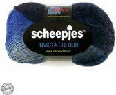 Scheepjes Invicta Colour 952 BLAUW GRIJS. PAK MET 5 BOLLEN a 100 GRAM.