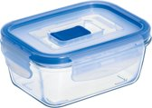 Luminarc Pure Box Active Vershoudbak - Glas - Vierkant - 0,38 l