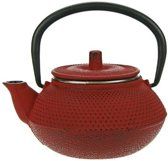 Cosy&Trendy Kobe Tea for One Theepot - 0.3 l - Gietijzer - Rood