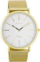 OOZOO Vintage C7389 - Horloge - Staal - Goudkleurig -  40 mm