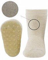 Anti-slip sokken Stoppi - Zilver Maat: 25-26