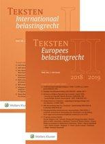 Teksten Internationaal & Europees belastingrecht 2018/2019