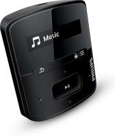 Philips GoGear Raga MP3 speler - 4 GB - Zwart