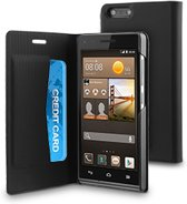 muvit Huawei Ascend G6 3G Folio Case Black