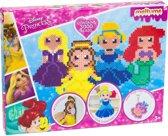 Disney princess strijkkralen set met plakkers en sleutelhangers