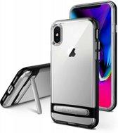 iPhone XR bumper - Goospery Dream Stand Bumper Case - Zwart