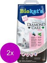 Biokat's Diamond Care Fresh - Kattenbakvulling - 2 x 8 l