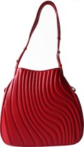 Hobo bag CURVE - Red