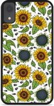 iPhone Xr Hardcase hoesje Sunflowers