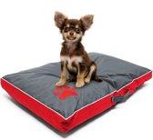 Hondenkussen hondenkussen hondenmand Outdoor Wasbaar rood L 85x55x8cm