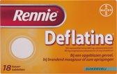 Rennie Deflatine - 18 tabletten