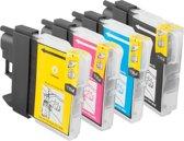 merkloos cartridge geschikt voor Brother LC 985 Multipack XL (LC985VALBP) 4 Cartridges