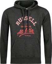 Russell Athletic - Pull Over Hoody - Heren - maat M