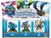 Skylanders Spyro's Adventure: Triple Pack Stealth Elf, Wrecking Ball, Sonic Boom