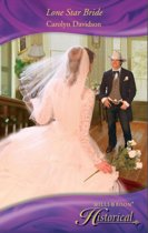 Lone Star Bride (Mills & Boon Historical)