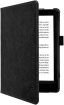 Premium Business Case, Betaalbare zwarte Hoes-Sleepcover voor Kobo Aura h2o Edition 2 2017, zwart , merk i12Cover