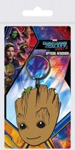 GUARDIANS OF THE GALAXY 2- RUBBER KEYCHAIN - BABY GROOT