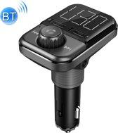 BT72 Dual USB Opladen Smart Bluetooth Fm-zender MP3 Muziekspeler Car Kit met 1.5 inch Wit Scherm, Ondersteuning Bluetooth-oproep, TF-kaart & U-schijf