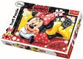 Happy Minnie / Minnie Mouse, 100 stukjes Puzzel