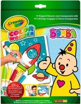 Crayola Color Wonder - Box Bumba Kleurboek inclusief 5 Stiften
