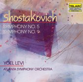 Shostakovich: Symphonies no 5 & 9 / Levi, Atlanta SO