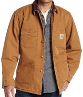 Carhartt Duck Chore Coat Brown Werkjas Heren