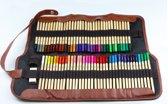 Kleurpotlodenset 72 stuks | Professionele tekenset | Art set | Potloden | Tekenetui | Tekengerei | Houtskool | Grafietpotloden | HB potloden