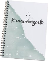 Kaartjelief Kraambezoekboek A5 |Invulboek
