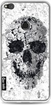 Casetastic Softcover Huawei P8 Lite (2017) - Doodle Skull BW