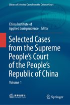 Selected Cases from the Supreme People's Court of the People's Republic of China