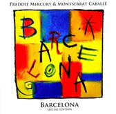 CD cover van Barcelona (Special Edition) van Freddie Mercury